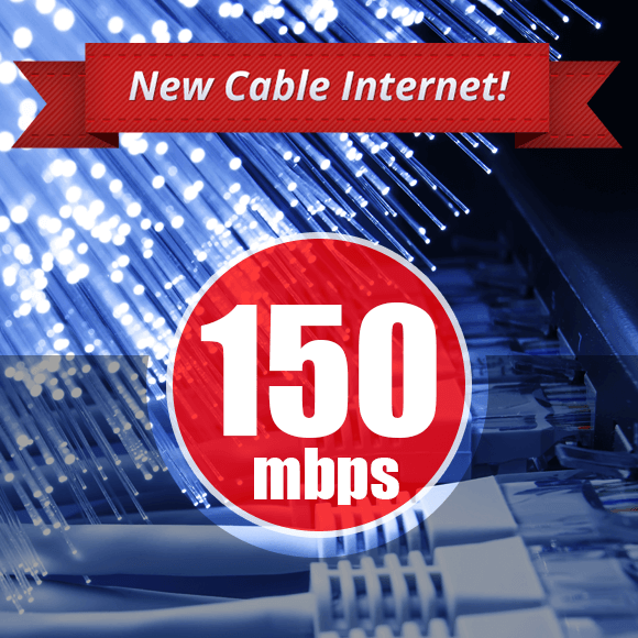 cable 150mbps