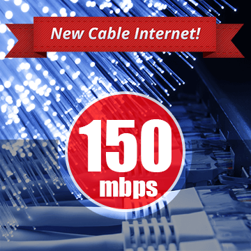 cable 150mbps new