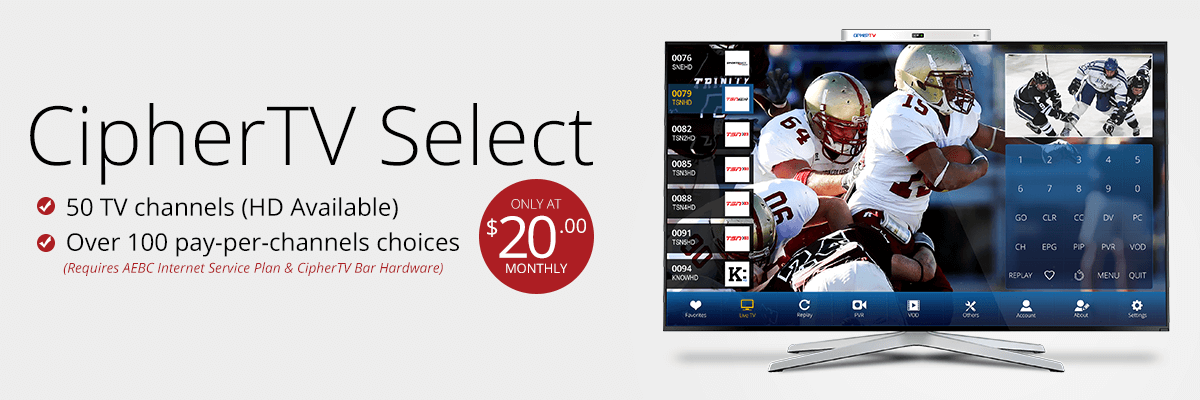 AEBC Select TV Package