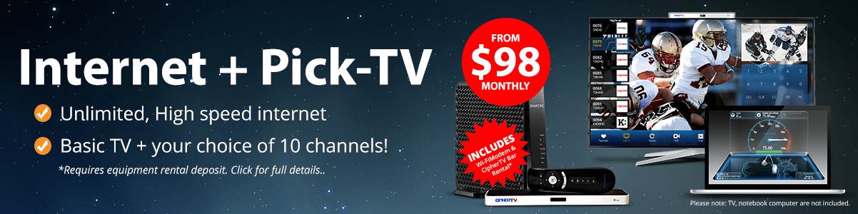 75Mbps+ TV Pick 10